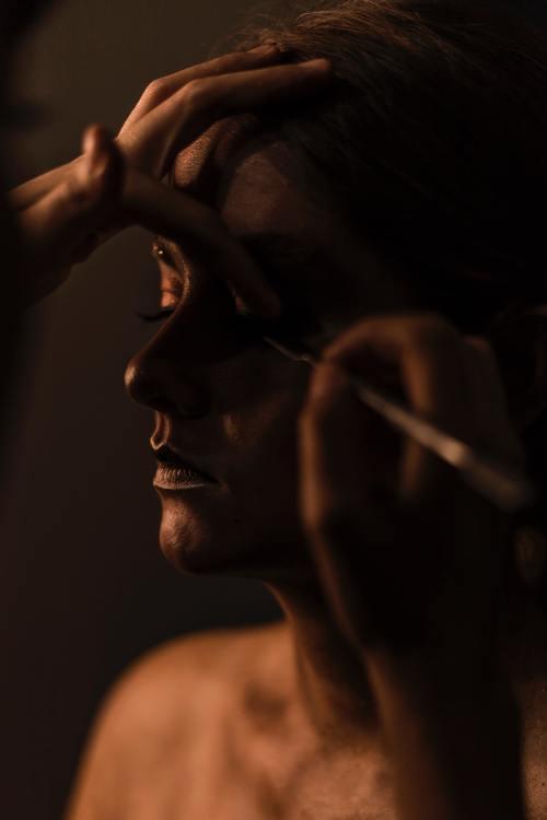 Ta hand om huden när du använder smink